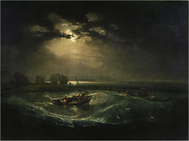 Fishermen at Sea, JMW Turner