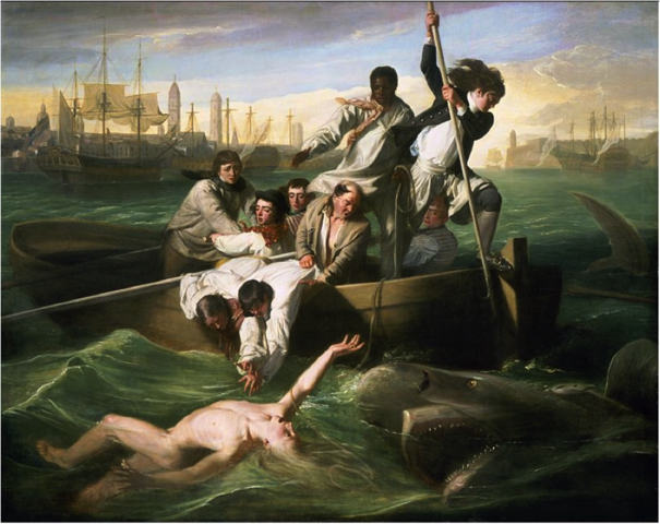 Watson and the Shark, John Singleton Copley