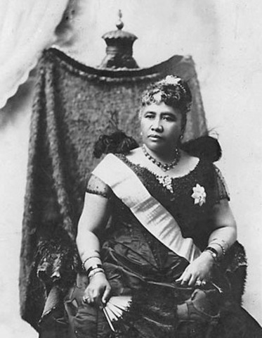 Queen Lili'uokalani Desposed