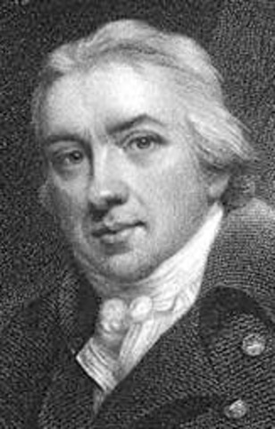 Edward Jenner develops a method to protect people from smallpox by exposing them to the cowpox virus.