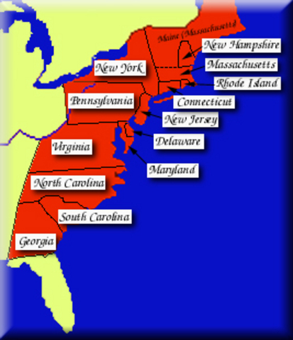 essay on the thirteen colonies Comparison and contrast of the new england, middle and southern colonies after the establishment of the thirteen british colonies were  persuasive essay (13) q&a.