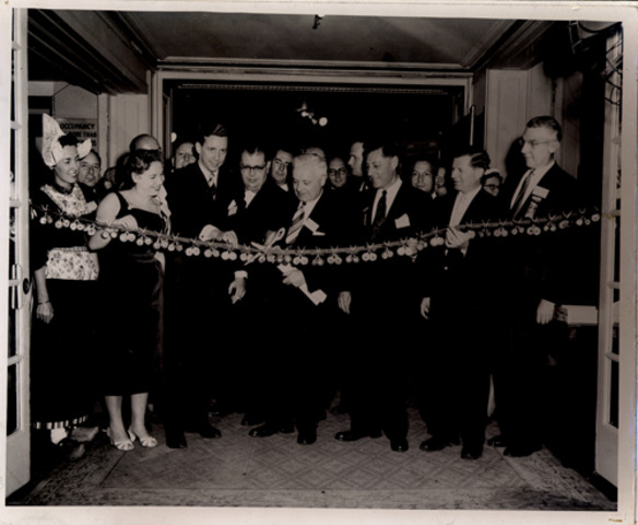 Ribbon Cutting at Inaugural Show