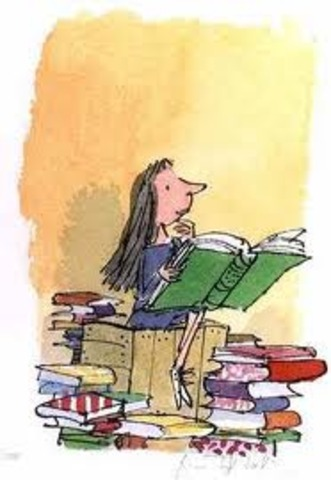 Dahl began working with Quentin Blake.
