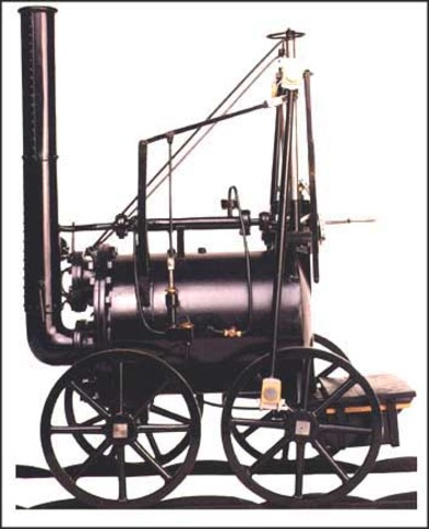 Trevithick builds a full-size steam road carriage