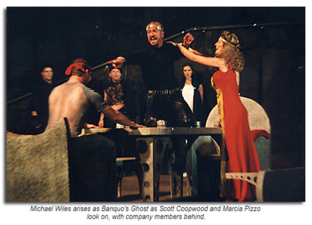 an analysis of the appearance of the ghost of banquo in act iii scene iv of the play macbeth by will Macbeth welcomes various guests to his banquet the first murderer appears and macbeth steps aside to speak with him the murderer tells macbeth that banquo is dead, but that fleance has escaped.