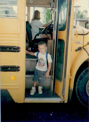 Joe's First Day of School