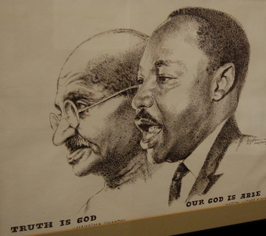 a discussion on martin luther kings philosophy of nonviolence His philosophy of non-violence fits into the continuity of both eastern and western   :philosophy of dr martin luther king, jr, will be discussed in this chapter it.