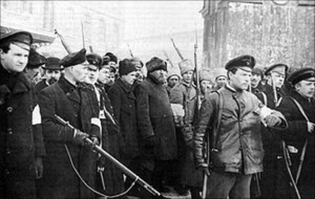 why was the bolshevik take over Lenin's take-over of russia was showed by his leadership of the bolshevik party under huge suppression during the year of 1917, lenin led the bolsheviks to power through the october revolution under huge suppression during the year of 1917, lenin led the bolsheviks to power through the october revolution.
