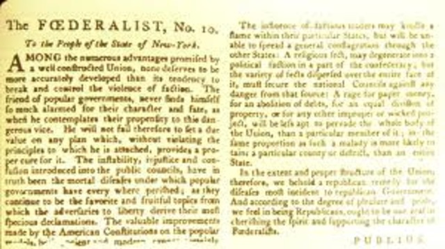 The federalist papers sparknotes