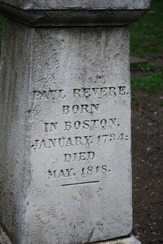 Paul Revere passes away