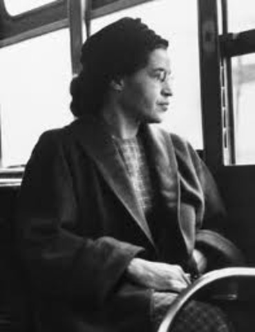 Rosa Parks Refuses To Give Up Her Seat (5)