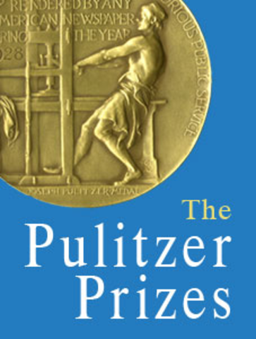 Awarded Pulitzer Prize