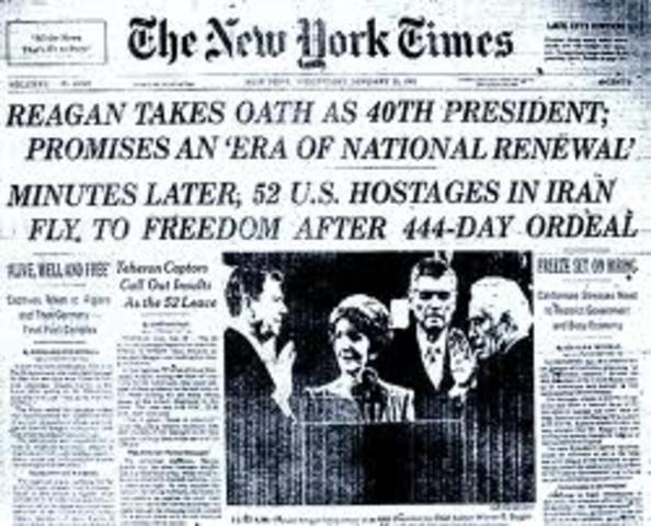 52 American Hostages Released in Tehran Following Inauguration of Ronald Reagan (6)