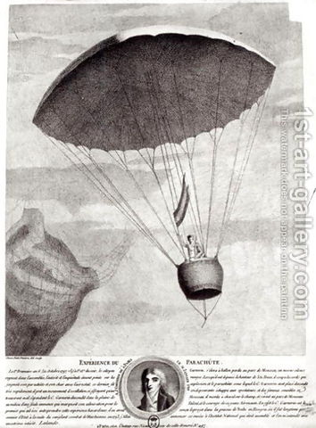 Leonardo designed first parachute
