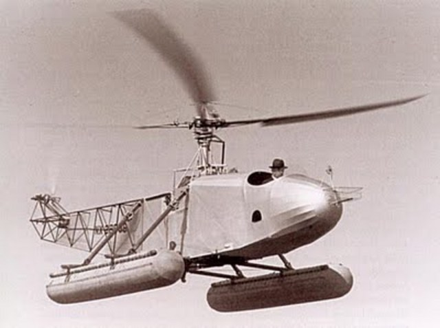 Igo Silkorsky invents first successful helicopter