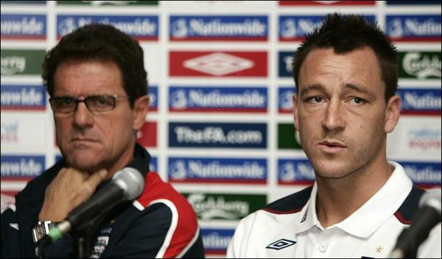 John Terry loses England captaincy