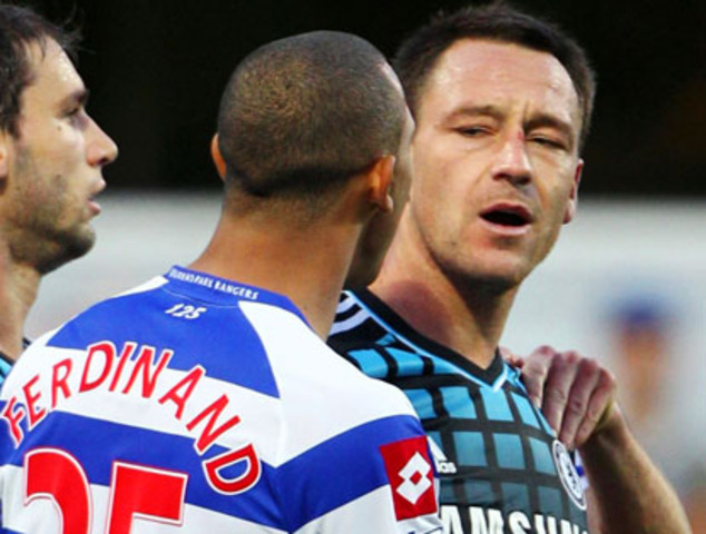 John Terry allegedly racially abuses Anton Ferdinand