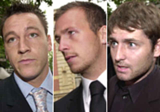 John Terry and team-mate Jody Morris charged with assualt