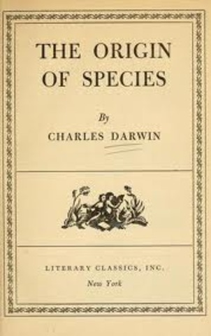 Charles Darwin's The Origin of Species by Means of Natural Selection was first published.