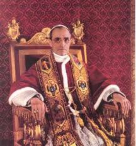 Pope Pius XII issued the encyclical Humani Generis,