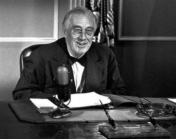 FDR is elected for fourth term