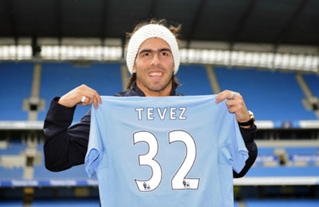 Signing for Man City