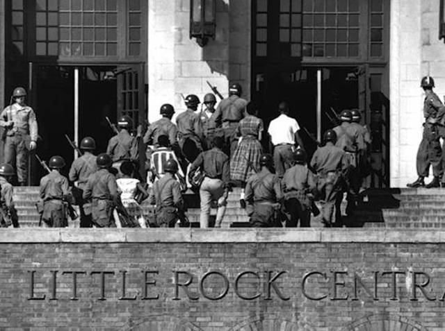 a history of the little rock nine in the american civil rights movement The little rock nine the use of us armed forces on american soil is a constitutional issue how did the little rock nine influence the civil rights movement.