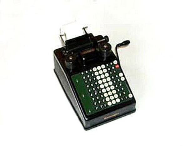 Burroughs: First commercially successful adding machine.