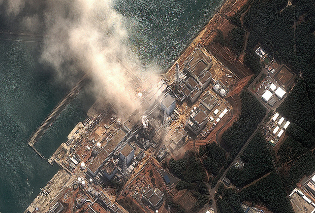 Earthquake in Japan Damaged Powerplant
