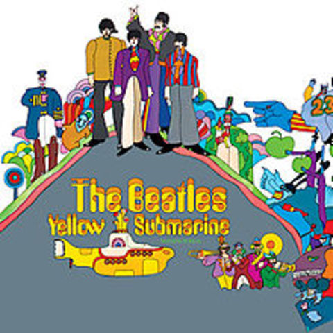 The Bealtes Release Yellow Submarine