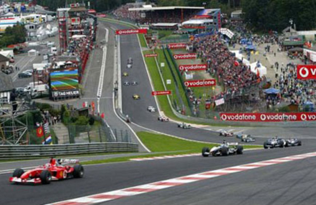 Seventh title-Spa Grand Prix