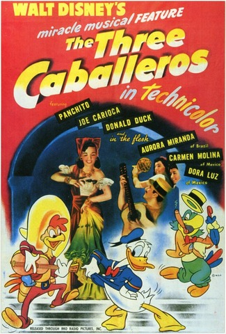 The Three Caballeros was released