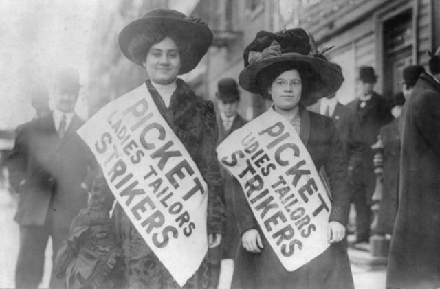 The Lowell Mill Girls Go on Strike