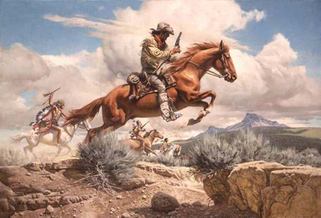 The Pony Express Begins