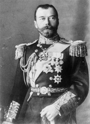 Abdiction of Czar Nicholas II