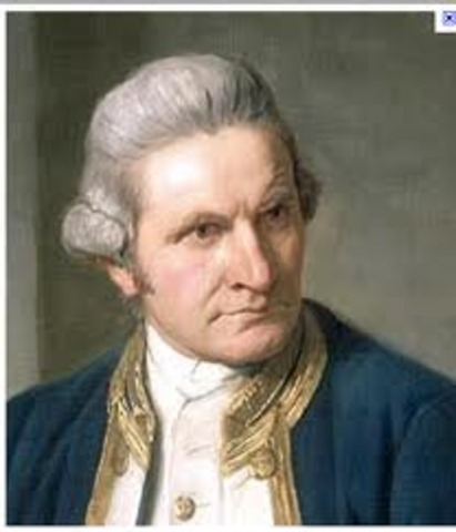 Captain James Cook lands in Botany Bay