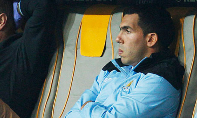 """Tevez Finished at City"" - Mancini"