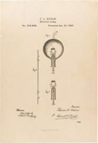 Thomas Edison's Invention of the Lightbulb