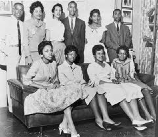 "Crisis at Central High School and the ""Little Rock Nine"" continued"