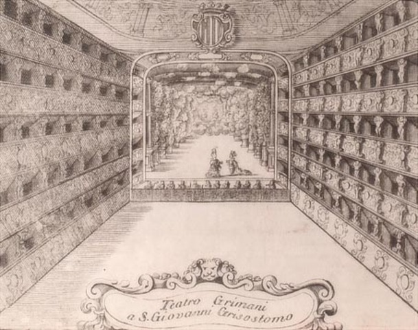 "First public opera house called ""Teatro San Cassiano"" openned in Venice"