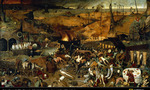 Bruegel the triumph of death  landscape