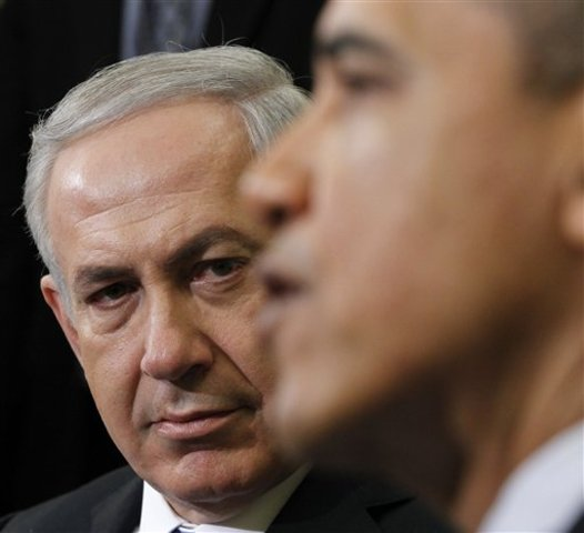 Obama and Netanyahu meet
