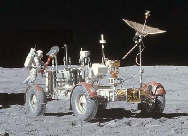 Tires on the Moon