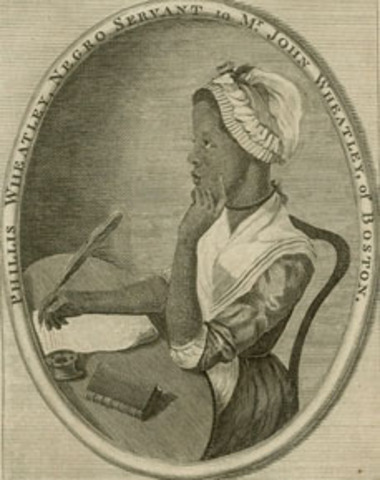 Birth of Phillis Wheatly