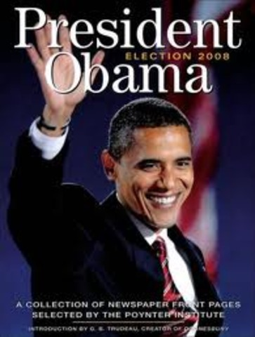 Obama elected as president