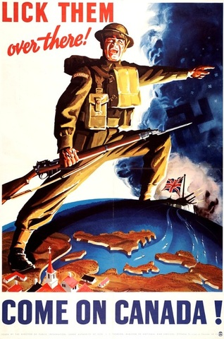 Canada declares war on Germany.