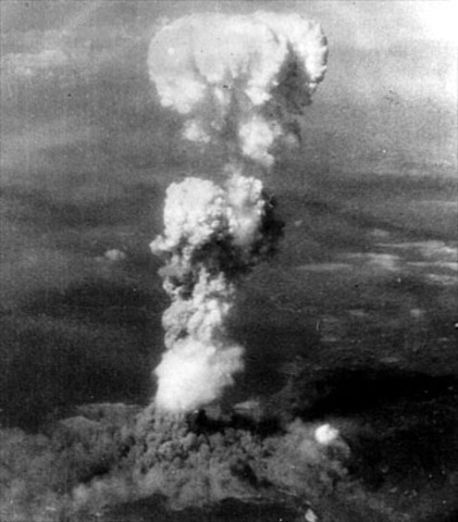 First Atomic Bomb on Hiroshima