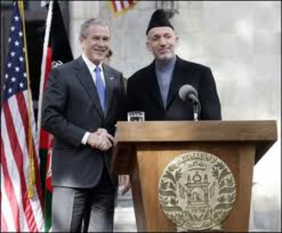 The U.S. in Support of President Karzai