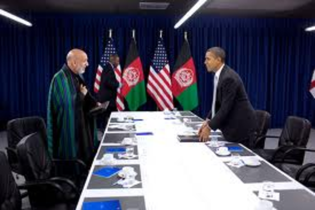 President Barack Obama's announcement on Removal of troops in Afghanistan