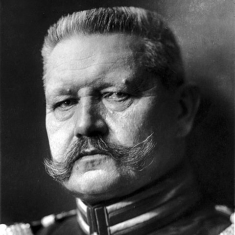 Death of President Hindenburg